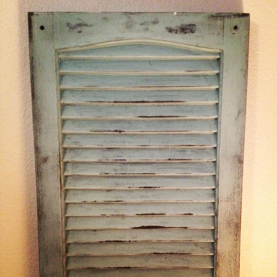 The ... - DIY Distressed Shutters Life Through My Eyes