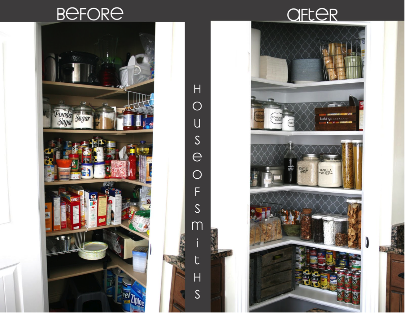 Get Inspired 10 Amazing Pantry Makeovers: Inspire — Organization
